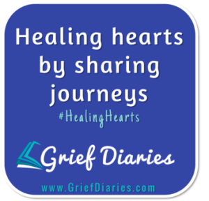 Grief Diaries, Healing Hearts LOGO
