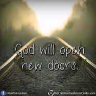 god will open new doors