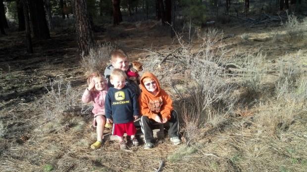 kids at ranch